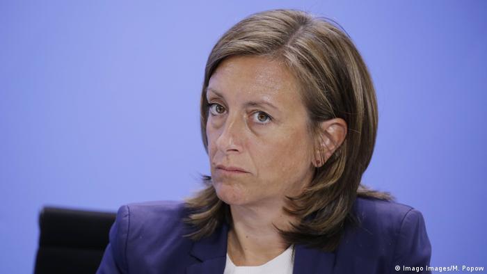 اولریکه دمر، معاون سخنگوی صدراعظم آلمان