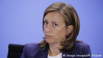 Ulrike Demmer stellvertretende Regierungssprecherin Deutschland (Imago Images/M. Popow)