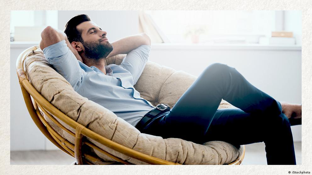 Deutschkurse | Wortschatz | WBS_Foto_sich_entspannen
