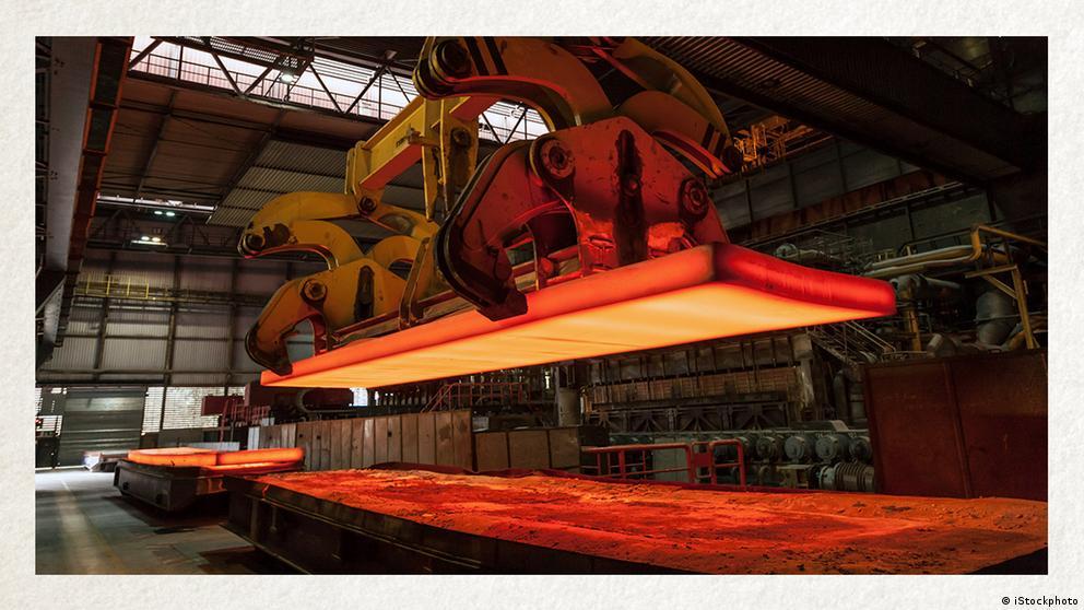 Deutschkurse | Wortschatz | WBS_Foto_Stahlindustrie