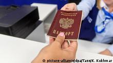 Russland Nowosibirsk | Ausgabe Pass