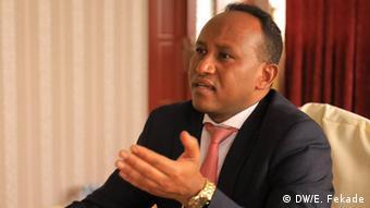 Äthiopien   Innovation & Technology Minister Jemal Beker