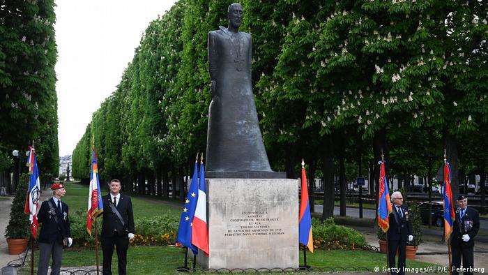 The Paris memorial to the Armenian genocide