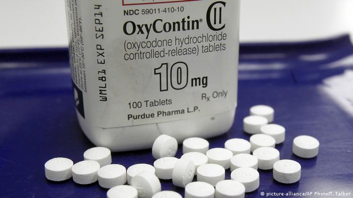 Opioid-Krise in den USA: Sucht auf Rezept | Amerika - Die aktuellsten  Nachrichten und Informationen | DW | 24.04.2019