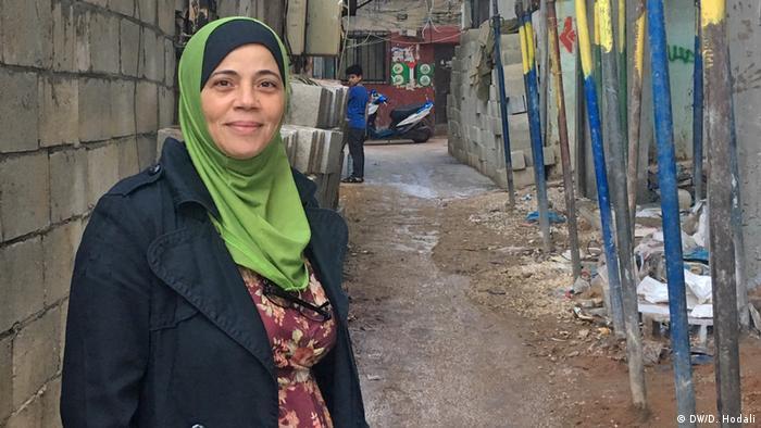 Libanon Barometer | Palästinenserin Kholoud Hussein
