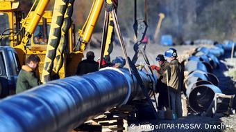 Реконструкция нефтепровода Дружба в Беларуси