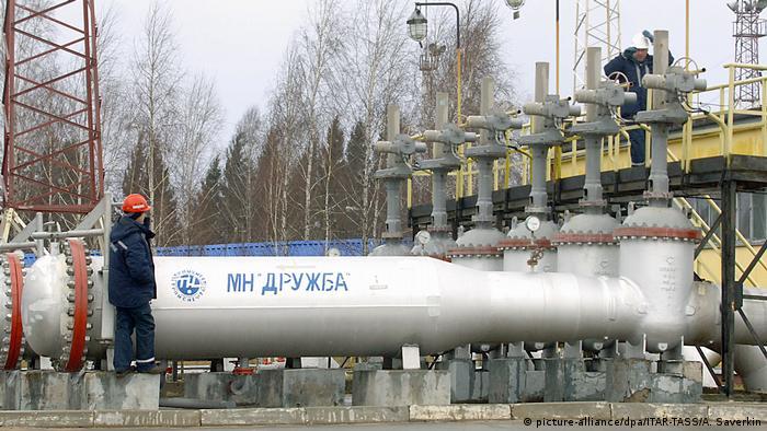 До недавних пор Беларусь получала российскую нефть по нефтепроводу Дружба