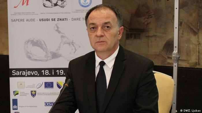 Bosnien Herzegowina Sarajevo - Murat Tahirovic - Präsident der Association of genocide victims and survivors (DW/Z. Ljubas)