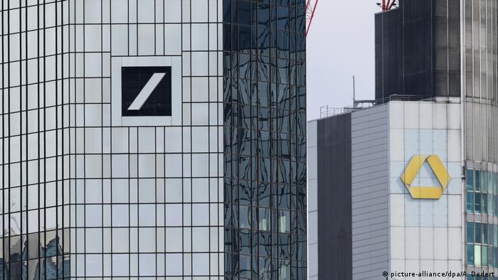 Deutsche Bank und Commerzbank in Frankfurt (picture-alliance/dpa/A. Dedert)