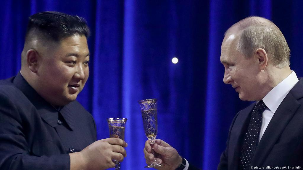 Putin Kim Needs Security Guarantees On Nuclear Deal News Dw 25 04 2019