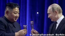 Russland Wladiwostok Treffen Putin und Kim