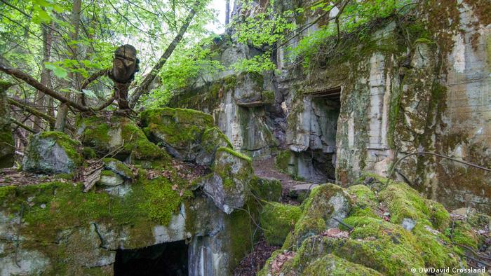 Так выглядит сегодня один из бункеров Волчьего логова