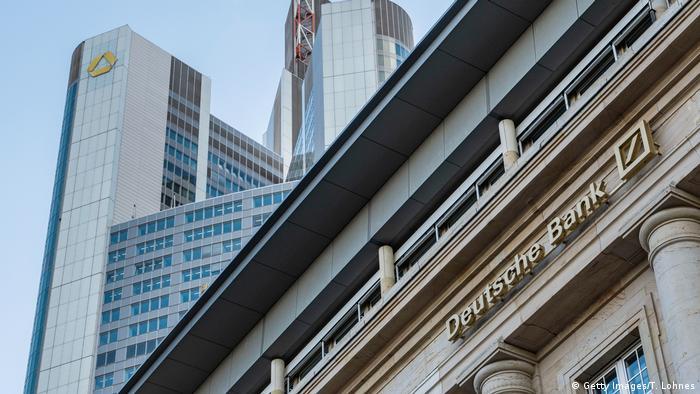 Commerzbank, Deutsche Bank in Frankfurt