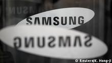 Südkorea Seoul - Logo - Samsung