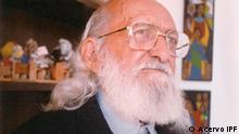 Brasilianischer Pädagoge Paulo Freire