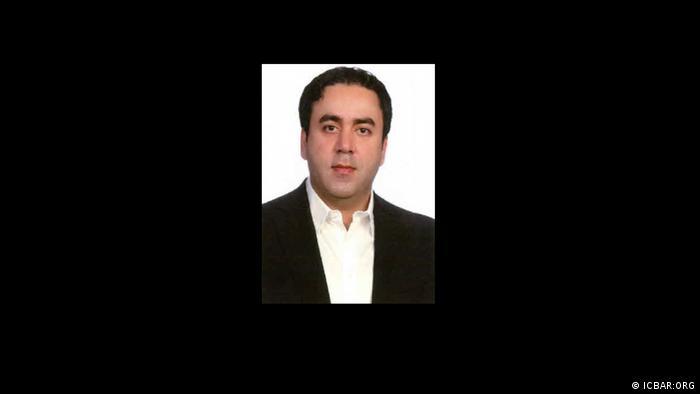 Screenshot, Portait Hamid Hajian, getöteter iranischer Anwalt