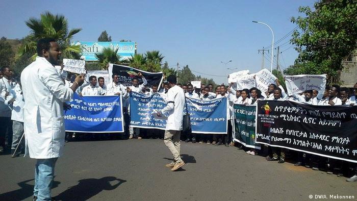 Äthiopien   Ärzte protestieren in Bahir Dar