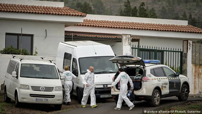 German woman and son found dead in cave on Spain's Tenerife