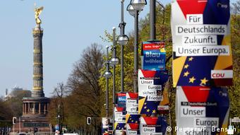 Deutschland Berlin Europawahl 2019 | Wahlkampf CDU, CSU, AfD (Reuters/F. Bensch)