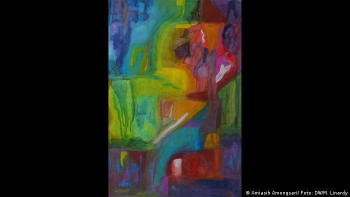 Deutschland   Bilder von indonesischer Malerin Amiasih Amongsari
