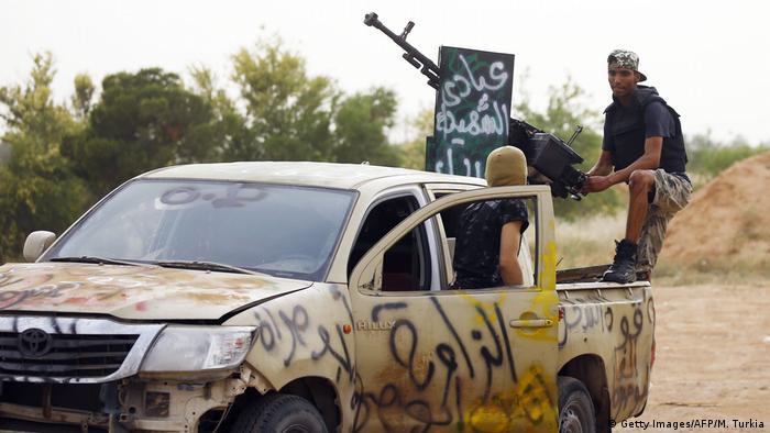 GNA-alligned fighters near Tripoli