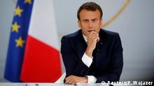 Frankreich Paris | Präsident Emmanuel Macron - Antwort auf Gelbwesten-Proteste
