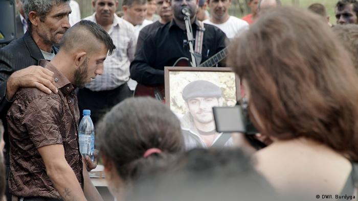 Похорон вбитого Давида Поппи