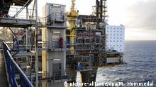 Symbolbild: Gasgewinnung und Ölgewinnung in Norwegen