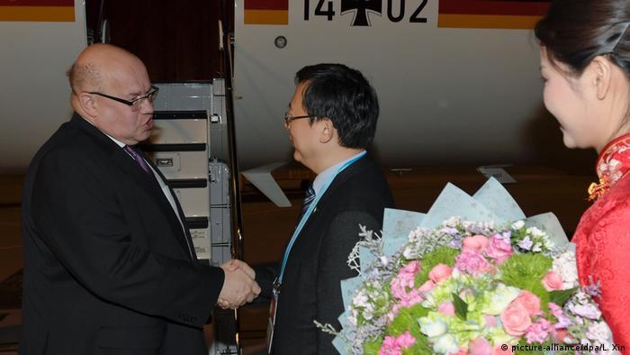 Peter Altmaier auf dem Seidenstraßen-Gipfel in Peking