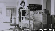 Die jüdische Autorin Ruth Weiss, Journalistin in Südafrika Bitte vermerkt im Copyright neben Peter Duminy bzw. Rheinland und BPA auch Archiv der BAB