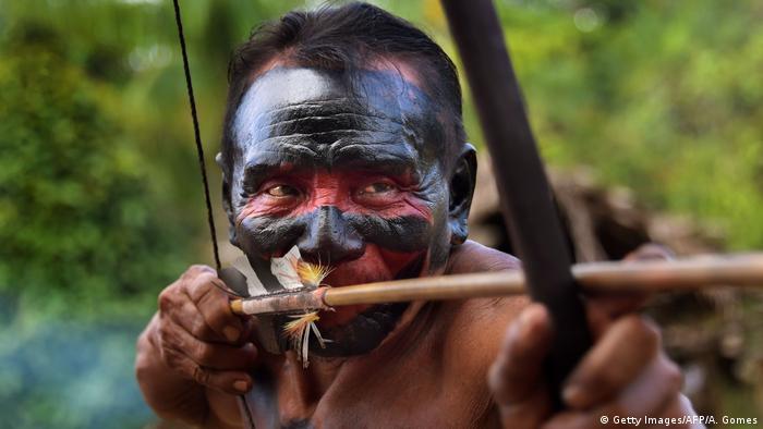 Brasilien Indigo Waiapi