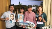 Tom Nuttall, Emmanuelle Chaze, Damien McGuinness und Michaela Küfner.