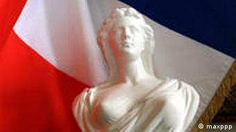 Francuska zastava i Marijana