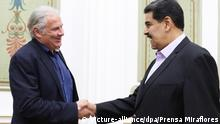 Andrej Hunko meeting with Nicolas Maduro in Caracas