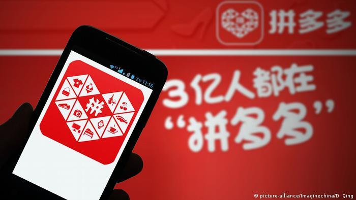 China Pinduoduo E-Commerce Plattform (picture-alliance/Imaginechina/D. Qing)