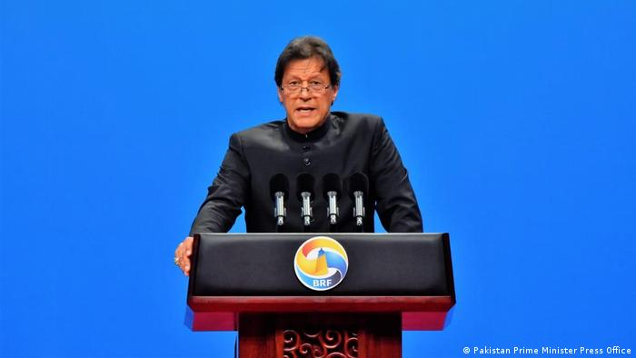 China Imran Khan beim Second Belt and Road Forum (Pakistan Prime Minister Press Office)