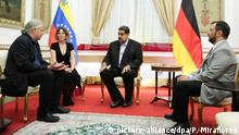 Venezuela Caracas - Andrej Hunko zu besuch bei Nicolas Maduro