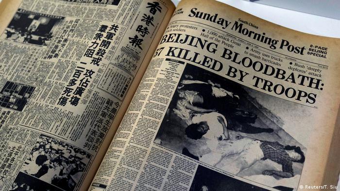 Hongkong Eröffnung Museum zum Gedenken an Tiananmen-Massaker (Reuters/T. Siu)