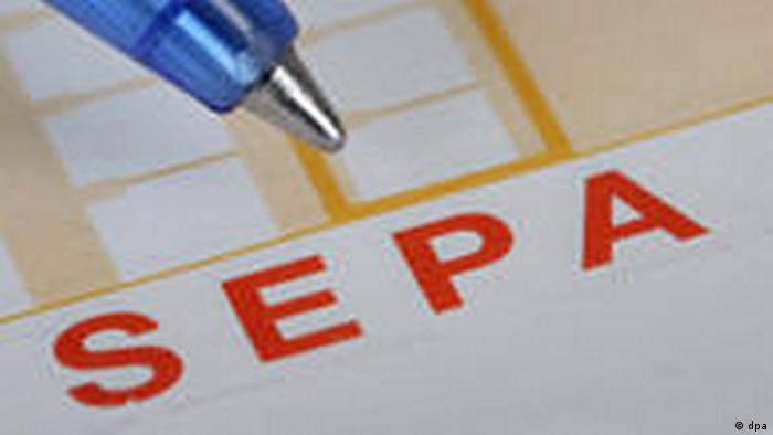 Symbolbild Eu-weiter Zahlungsverkehr (dpa)