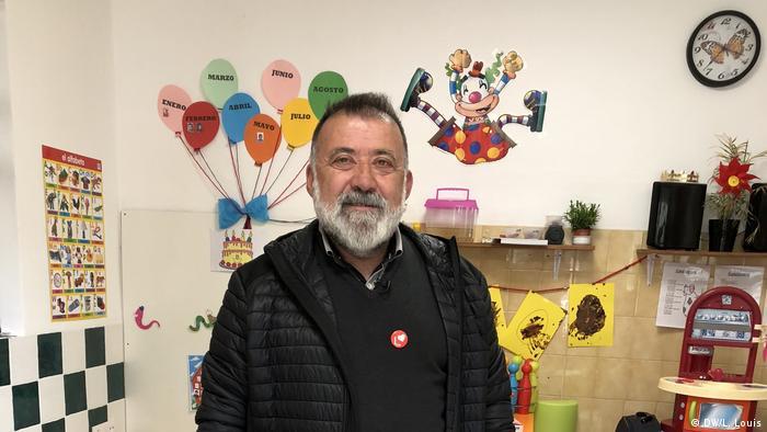 Herminio Sancho, the PSOE candidate in Teruel