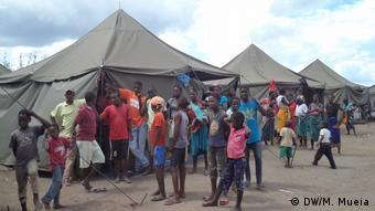 Mosambik Notunterkünfte in der Provinz Zambézia