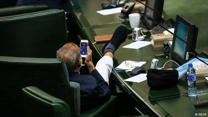 Iran - Parlamentsabgeordnete Solghadr (MEHR)