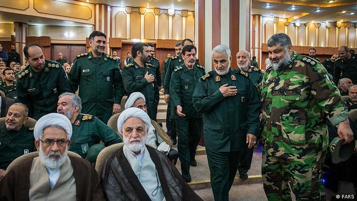Iran - General Ghasem Soleimani bei dem Revolutionswächter