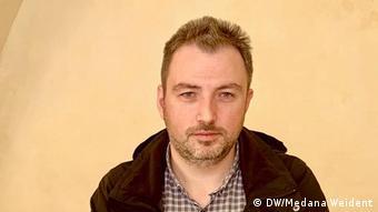 Alin Chipăilă, preşedintele AJT Sibiu (DW/Medana Weident)