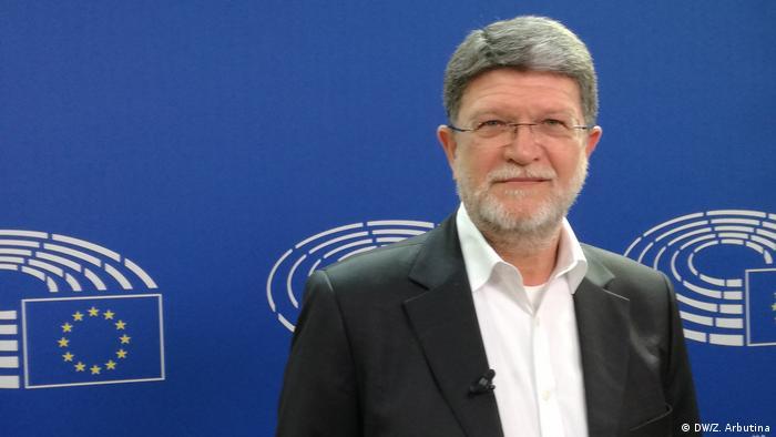 Tonino Picula - Abgeordneter im Europäischen Parlament aus Kroatien (DW/Z. Arbutina)