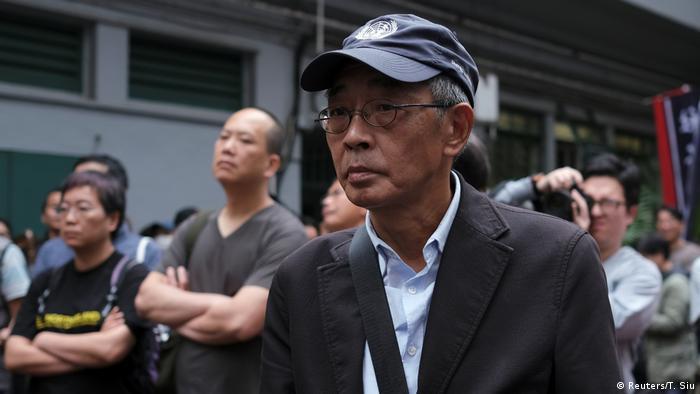 Hong Kong - Buchverkäufer Lam Wing-kee während Protesten