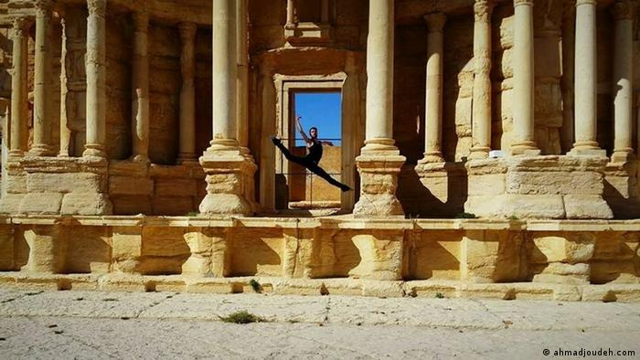 Dancer Ahmad Joudeh on Palmyra before it was destroyed in the Syrian conflict (ahmadjoudeh.com)