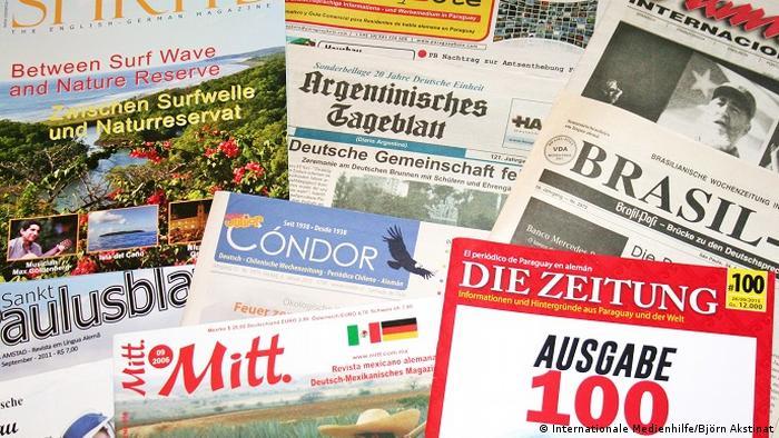 Deutschsprachige Zeitschriften aus Lateinamerika (Internationale Medienhilfe/Björn Akstinat)