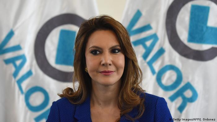 Zury Ríos, hija del expresidente Ríos Montt.
