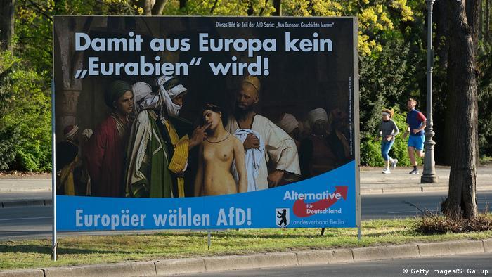 Deutschland Europawahl 2019 | AfD-Wahlkampf in Berlin | Eurabien